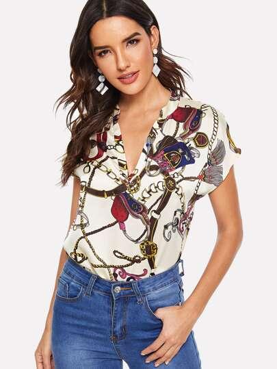 71fca5c4 Women's Blouses, Shirts & Dressy Tops | SHEIN
