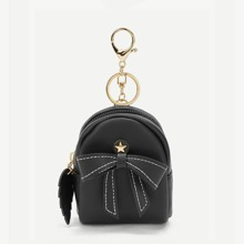 Bow & Metal Star Decor Purse (bag190107604) photo