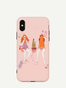 Girls Pattern iPhone Case