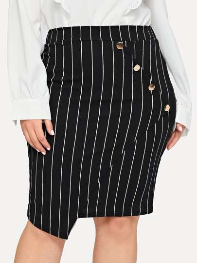 dddf8be3cc Plus Size Skirts, Shop Plus Size Skirts Online | SHEIN IN