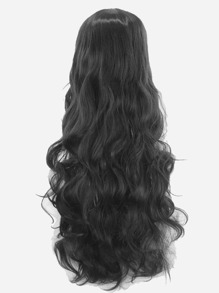 Long Wave Wig With Bangs