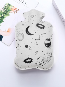 Planet Print Hot Water Bag