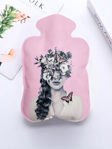 Beauty Print Hot Water Bag