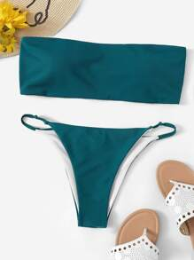 Bandeau With Tanga Cheeky Bikini