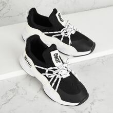 Toddler Kids Lace-up Front Trainers