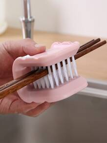 Toothbrush Shaped Cleaning Brush