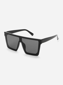 a68811628e Flat Top Sunglasses   SHEIN