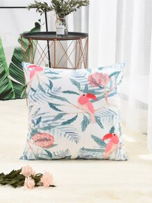 Parrot Print Cushion Cover