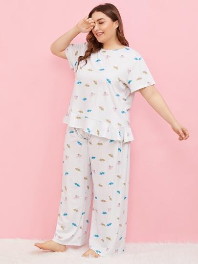 b5c0b597a Plus Size Loungewear, Shop Plus Size Loungewear Online   SHEIN IN