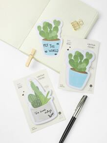 Cactus Sticky Note 2packs