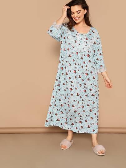 249ea0b03d Plus Size Loungewear, Shop Plus Size Loungewear Online | SHEIN IN