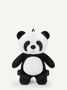 Cartoon Panda Shaped Backpack