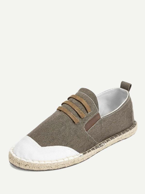 8d9aeca1a Cheap Men Slip On Canvas Espadrille Loafers for sale Australia | SHEIN