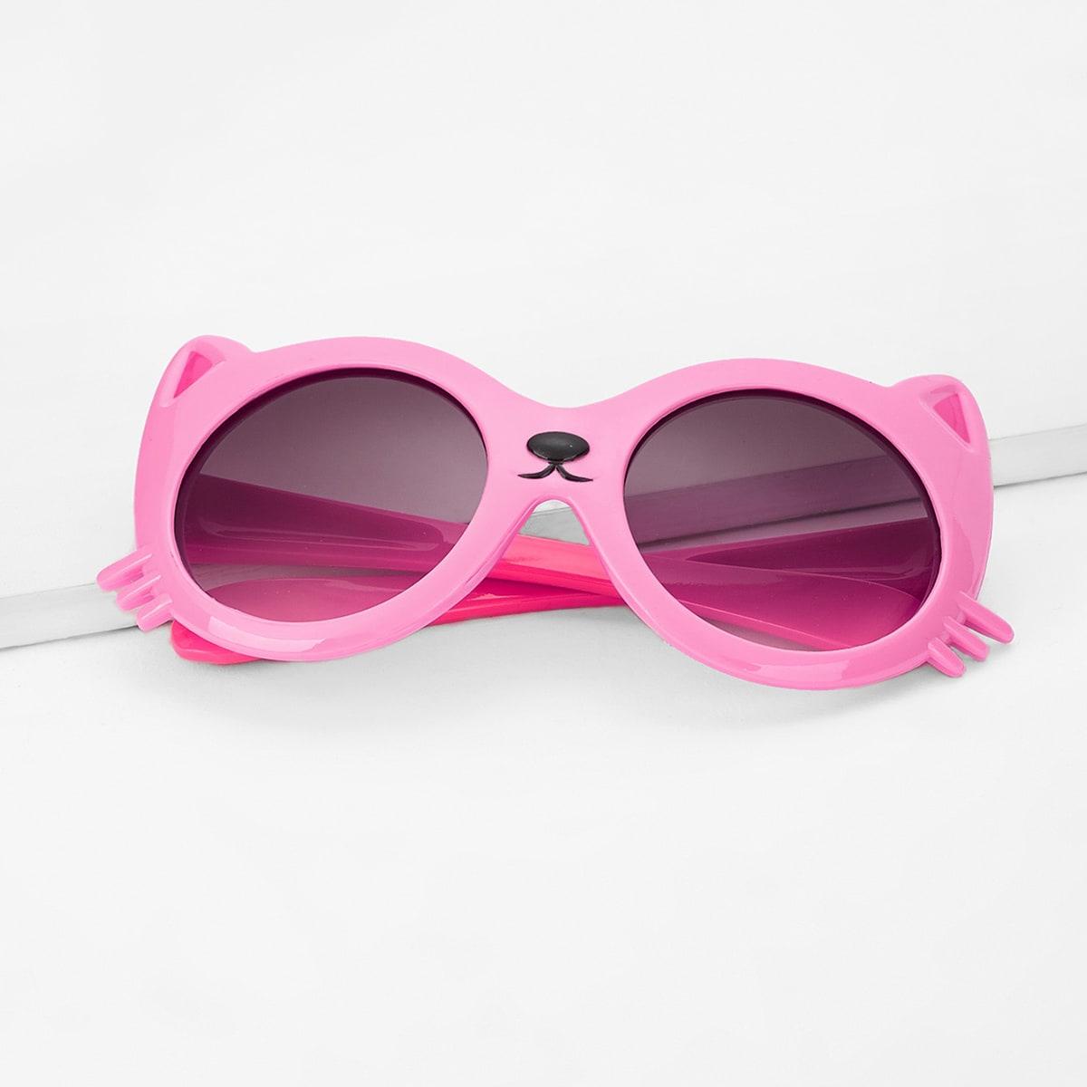 Солнцезащитные очки с круглыми линзами для девочек