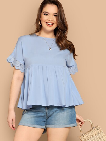7f44148180e Women's Plus Size Blouses, Shirts & Tops | SHEIN
