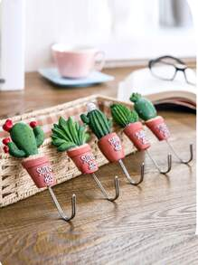 Random Cactus Hook 1pc