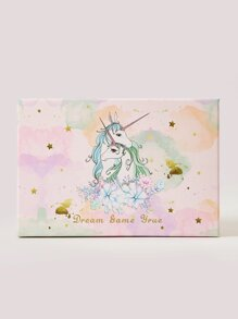Unicorn Print Large Gift Storage Box