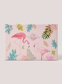Flamingo Print Large Gift Storage Box
