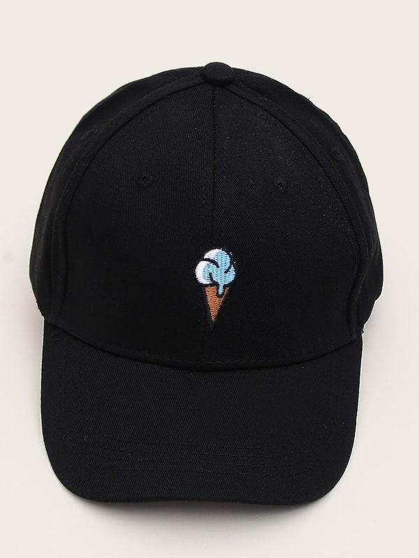3135d39577 Men Embroidered Detail Baseball Cap | SHEIN IN