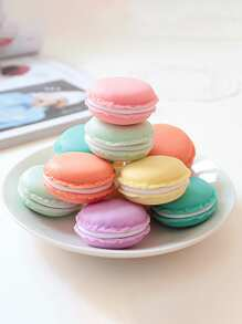 Random Color Macaron Storage Box 1pc