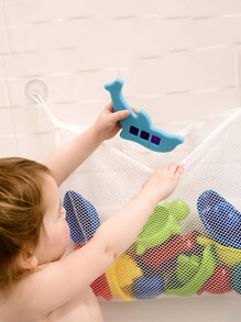 Suction Cup Toy Storage Bag 1pc