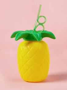 Pineapple Shaped Straw Cup