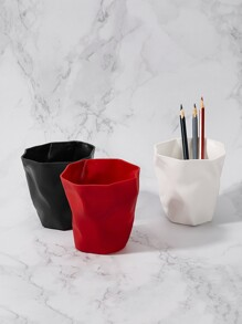 Irregular Solid Pen Holder 1pc