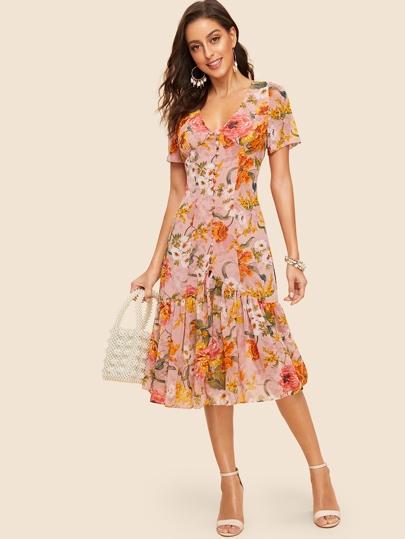 248237c012d0 Women's Dresses, Trendy Fashion Dresses | SHEIN