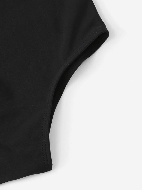 a239459a24cdd ملابس سباحة قطعة واحدة منخفض الظهر مطرز للبنات الصغار