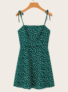 Ditsy Floral Print Cami Dress