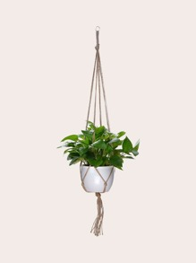 Knitted Plant Hanging Rope