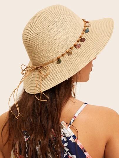 8d110d6a09d67 Bow Knot Lace Up Hat