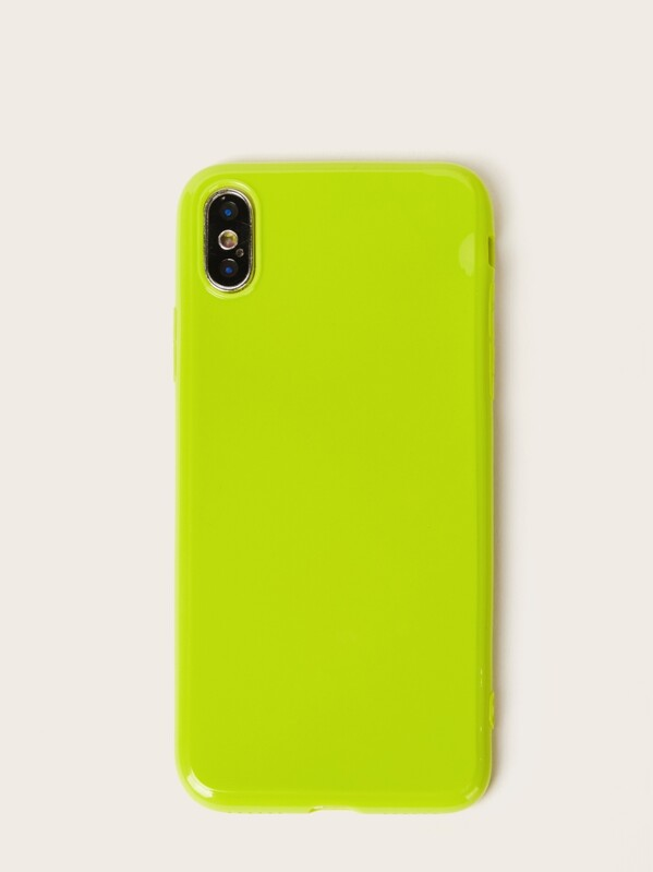 1fb5ae2aec Neon Lime iPhone Case | SHEIN IN