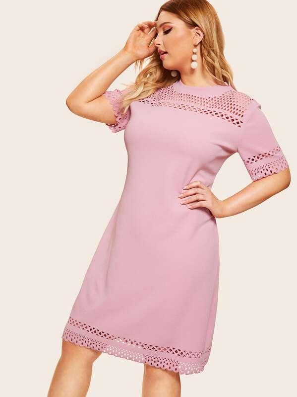 e838804ea39 Cheap Plus Laser Cut Dress for sale Australia