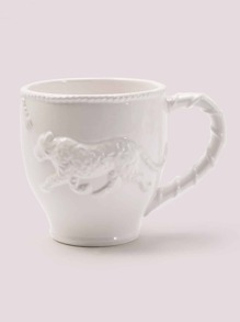 Leopard Embossed Water Cup