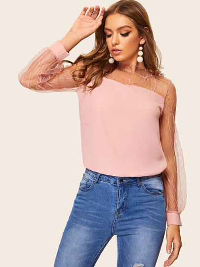 aef787ad10 Women's Tops, Blouses, Bodysuits, T-shirts & Vests | SHEIN UK
