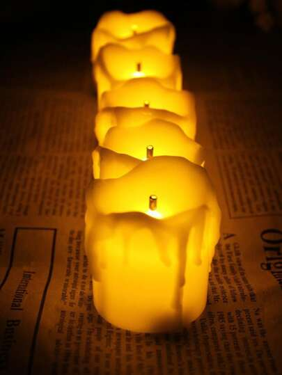 Candle Shaped Light 12pcs