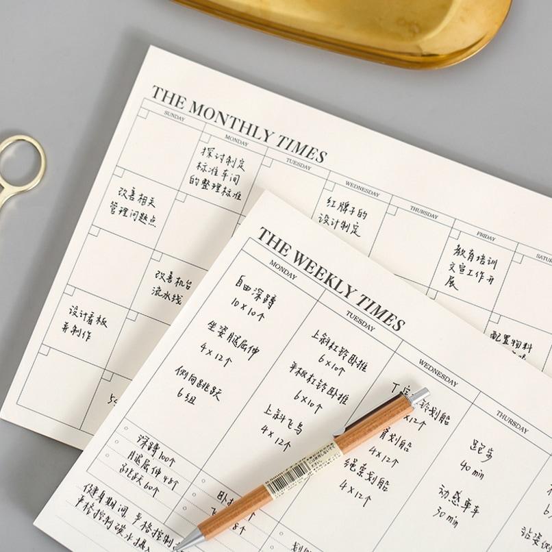 Plan Memo Pad 1pack