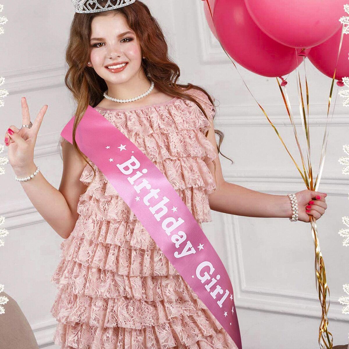 SHEIN coupon: Birthday Party Sash 1pc