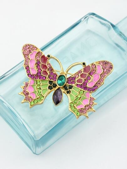 Creative Butterfly Coat Brooch