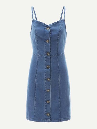 9d036ac5e830 Denim Dresses   Denim Dresses Sale Online   ROMWE