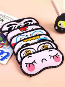 Random Cartoon Eye Mask 1pc