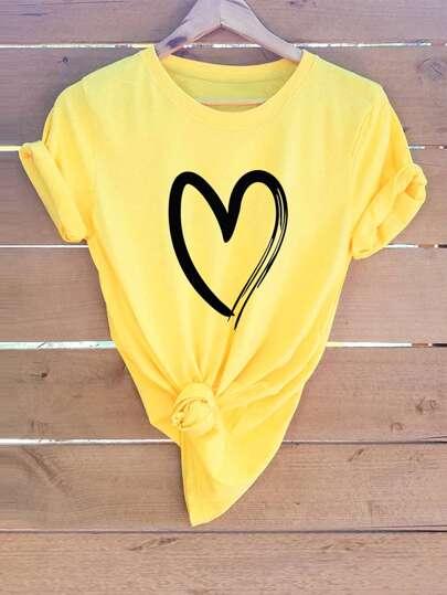 9717f6c156 T-Shirts & Tees | SHEIN