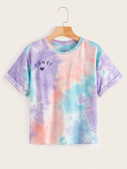 T-Shirts Multicolore Casual Tie & die