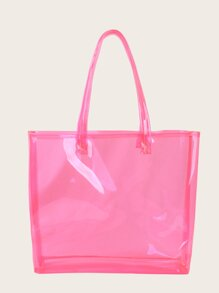 PVC Winged Tote Bag