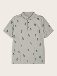 Guys Graphic Print Shirt