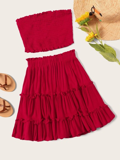3bdfce6a9c1d Two-piece Outfits | Two-piece Outfits Online | SHEIN