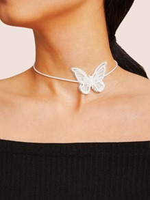 Butterfly Decor Choker 1pc