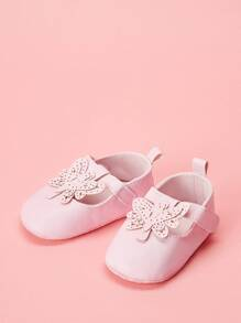 Baby Butterfly Decor Flats