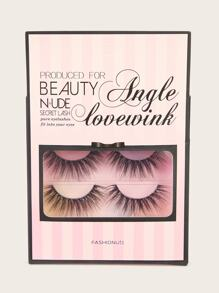 Thick False Eyelashes 2pairs